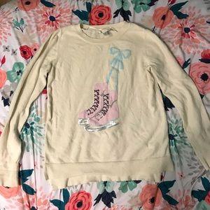 *Lauren Conrad Ice Skates Sweater*
